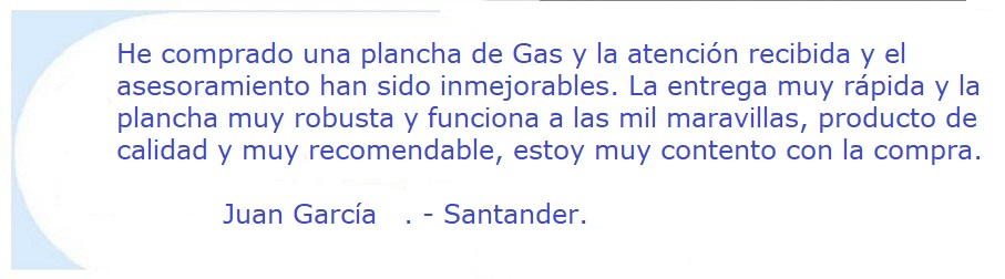 Plancha a Gas